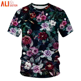 $enCountryForm.capitalKeyWord Canada - 3d Floral T Shirt For Men Summer Fashion Hawaiian Tee Shirt Casual Fitness Male Clothing Camiseta Hombre Manga Corta Plus