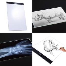 Discount drawing pad for tablet - A4 LED Light Panel Graphic Tablet Tracing Light Pad Board Digital Copyboard for Drawing Painting Copying