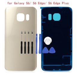 $enCountryForm.capitalKeyWord Australia - for Samsung Galaxy S6 G920  S6 Edge G925  S6 Edge Plus G928 Battery Back Cover Glass Rear Door Housing Cover 3M Glue Repair