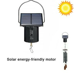 Discount spinner accessories - 1pcs Solar Powered Wind Spinner Motor Solar Electric Motor Garden Decor Hanging Ornament Chimes Accessories#40