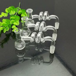glasses shapes Australia - Transparent Spiral T-shaped Pot Glass Bongs Glass Smoking Pipe Water Pipes Oil Rig Glass Bowls Oil Burn