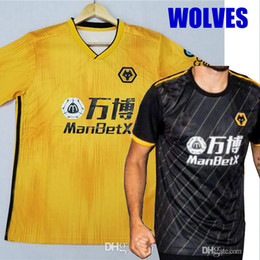 Chinese  2019 2020 Wolves NEVES RAUL home Soccer Jerseys Adult 19 20 Wolverhampton Wanderers football shirts Doherty DIOGO J. maillots de foot manufacturers