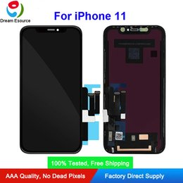 screen apple original Australia - Best Qaulity 100% Tested Genuine Original LCD Screen for iPhone 11 Complete Assembly Perfect Touch and Display Color & Free DHL shipping