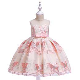 1f60f7cca Dress for Girl Sequins Flower Girls Party Dress Elegent Bridesmaid Wedding  Girl Christmas Princess Ball Gown Kids