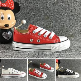 Discount unisex canvas shoes star - wholesale! kids canvas shoes fashion high - low Sneakers boys girls sports canvas shoes and sports star children shoes