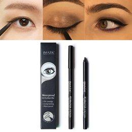 Beauty Essentials Hot Sale Purple Black Blue Brown Eyeliner Gel Water-proof And Smudge-proof Cosmetics Set Eye Liner Kit In Eye Makeup M1009#