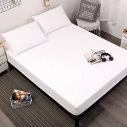 Elastic Beds UK - New product Printing Bed Mattress Cover Waterproof Mattress Protector Pad Fitted Sheet Separated Water Bed Linens with Elastic