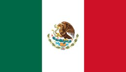 Mexican flags online shopping - 150cm cm Mexico National Flag Mexican Country Banner FT Polyester Custom Hanging Home Decorative