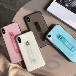 $enCountryForm.capitalKeyWord Australia - For iPhone 6 7 XR Soft Silicon Candy Phone Cover Fashion Color Transparent TPU Back Phone Case For iPhone XS