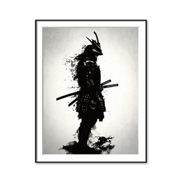 japanese wall canvas Australia - Japanese Samurai Canvas Oil Painting Modern Wall Art Pictures Canvas For Living Room Home Decoration 191003
