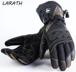 $enCountryForm.capitalKeyWord Australia - Genuine Leather sheepskin Full Finger Black moto men Motorcycle Gloves Motorcycle Protective Gears Motocross Glove