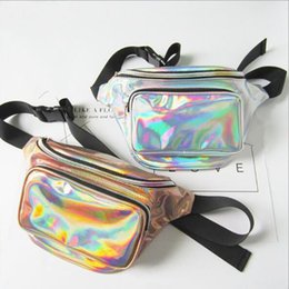 $enCountryForm.capitalKeyWord Australia - New 2019 Holographic Women Girl Fanny Pack Belt Bag Shiny Neon Laser Hologram Waist Packs Travel Shoulder Party Rave Hip Bum Bag