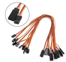 $enCountryForm.capitalKeyWord Australia - 10Pcs 150   200   300   500mm Servo Extension Lead Wire Cable For RC Futaba JR Male to Female 30cm