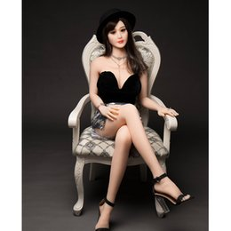 real beautiful silicone sex doll UK - full silicone Metal skeleton sex doll china super star beautiful face love doll real vagina boobs sex toys for men