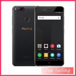 Mini Card Gb Australia - Global Firmware ZTE Nubia Z17 Mini 4GB 6GB RAM 64GB ROM Mobile Phone Snapdragon652 Cellphone Dual Rear Cameral FDD LTE 4G NFC