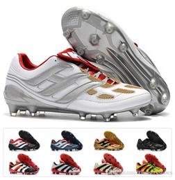 ab3b0d4d1 Retro Predator Precision Accelerator Electricity FG DB V 5 AG Beckham  Becomes 1998 98 Classics Men Soccer Shoes Football Boots Size 39-45