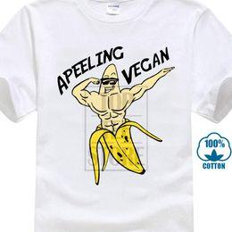 $enCountryForm.capitalKeyWord Australia - Apeeling Vegan T Shirt Banana Vegan Food Vegetarian Animals Welfare Summer O - Neck Hipster Tops