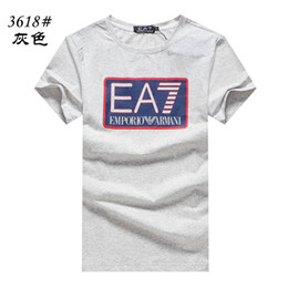 $enCountryForm.capitalKeyWord Australia - 2019 promotion new products Europe the United States tide brand new summer short-sleeved mens high-grade cotton digital printing T-shirts