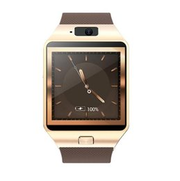 Discount smart watches 3g wifi - Wholesale QW09 Bluetooth Smart Watch Upgraded Version Wifi 3G Passometer Smartwatch with Camera Support SIM Card Whatsap