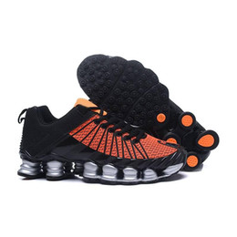 the best attitude 59ad2 941d4 2018 Shox Tlx Men Running Shoes Zapatillas Shox Tlx Designers Shoes Mens  New Outdoor Walking Kpu Sneakers Airs Cushion Sizes Eu40-46