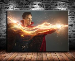 Doctor Prints Canvas Australia - Doctor Strange, Benedict Cumberbatch,1 Pieces Canvas Prints Wall Art Oil Painting Home Decor (Unframed Framed) 24X36.
