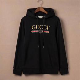 Wholesale jacket winter men famous resale online – 2020 Luxury Designer Hoodies Famous Italy Brand Winter Jackets Men Women Couples Casual Pullover Sweatshirt Mens Designer Hoodie