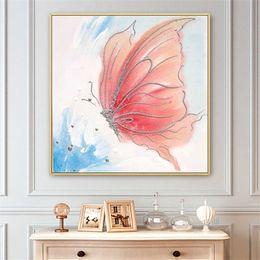 Leinwand Gemälde Schmetterlinge Online Großhandel ...