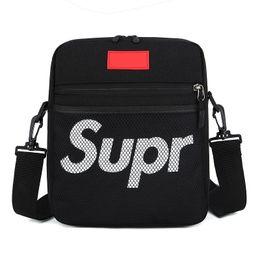 $enCountryForm.capitalKeyWord UK - Sup Supre Luxury Designer Crossbody Fanny Packs Backpack Teenages Hip-Hop Belt Waist Shoulder Bags Nylon Messenger Bags Square Purses C7507