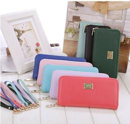 $enCountryForm.capitalKeyWord Australia - New Women Wallet Elegant Zipper Long Purse Clutch Coin Phone Bag Travel Wallet Card Holder Fashion Evening Bag