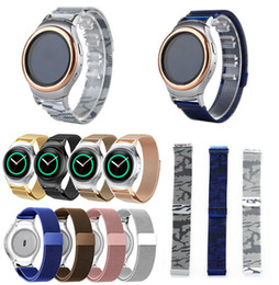 $enCountryForm.capitalKeyWord Australia - Milanese Stainless Steel Watch Band Magnetic Milanese Loop For Samsung Gear S2 Classic S3 Frontier Watch Strap