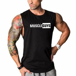 mens sleeveless t shirts summer fashion 2019 - 2019 Summer Men's tank tops New Fashion O Neck Sleeveless T Shirt Mens Clothing Trend Casual Top Men new hot @6 che
