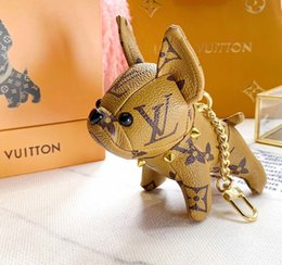 pendants grams Australia - French Bulldog Pendant CATO GRAM KEY HOLDER bracelet earrings iced out chains jewelry necklace mens chains rings cuban link chain