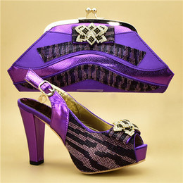 $enCountryForm.capitalKeyWord Canada - 2019 brand fashion designer luxury handbags purses African Heeled shoes bag set for women Ruffles Schoenen en Tas Set Vrouwen Schoenen en T