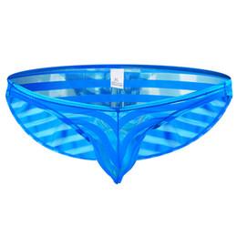 9e64630826c Men Sexy Briefs Underwear Transparent High quality Adult Breathable Mesh  Elastic Low Waist Spandex Male Brief Underpants Panties
