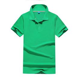 $enCountryForm.capitalKeyWord Australia - Cotton ball to short-sleeve polo shirt custom work clothes culture shirt industry clothes printed logo lapel custom class clothing