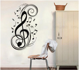 $enCountryForm.capitalKeyWord NZ - New Anime Colorful Hall Large Music Symbols Note Vinyl Lettering Art Decal Poster Wall Sticker Home Decor Decal Muscial 60*120 cm