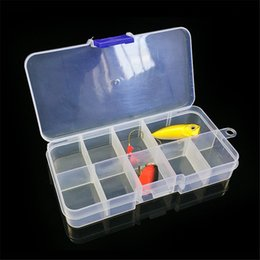 Plastic Fishing Lure Box Case Australia - Bait Organizer Box Fishing Lures Case Tackle Storage Fisher Gear Bulk Storage Box Organizer Organizador Sundries Cabinet Bag