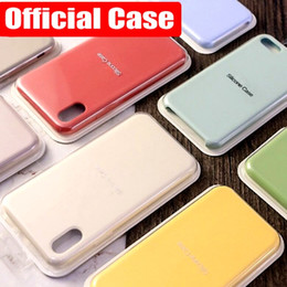 $enCountryForm.capitalKeyWord Australia - 2019 New Original Official Style Silicone Case For iphone XS MAX XR X Cases For apple For iPhone 7 8 6S Plus Retail Cover case Top quality