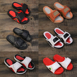 Stress Relief Toy The Best New Arrival Jordan Hydro 13 Sandals Jumpman Xiii Real Cat Eye Slippers For High Quality Black Red White 13s Shoe Sport Slides
