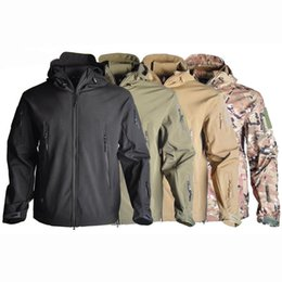 86956351933b8 Orange hunting clOthes online shopping - TAD Soft Shell Shark Skin Tactical  Jacket Outdoor Camouflage Hunting