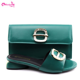$enCountryForm.capitalKeyWord NZ - New African Women Party Shoes and Bag Set Decorated with Rhinestone Sales In Women Matching Shoes and Bag Set Womens Dress Shoes