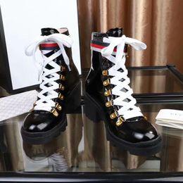 Venta al por mayor de Los zapatos del diseñador de moda de lujo Mujer Botas rojas abottomsGucciArranque de las mujeres zapatos de las muchachas de lujo del diseñador con los zapatos cargadores del partido de invierno