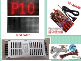 $enCountryForm.capitalKeyWord Australia - free shipping 20pcs p10 SMD outdoor red color LED text display module(320*160MM)+2pcs power supply+WIFI controller