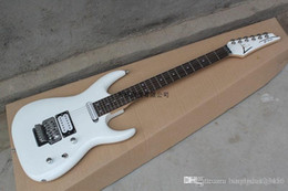 Korean accessories factory online shopping - Factory High Quality Korean Accessories Joe Satriani White Electric Guitar with Vibrato