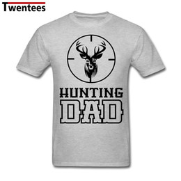 8fed5f4c mens designer t shirts shirt Men Man's Funny Dear Deer Hunting Dad T Shirt  Short Sleeve Cotton T Shirts For Boy