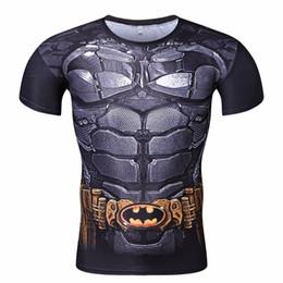 Mens Linen Shirt Xl UK - Mens Anime The Flash Barry Allen 3D Printed T Shirts Compression Shirt Fitness Men Crossfit Martial Arts gym outdoor sports wear