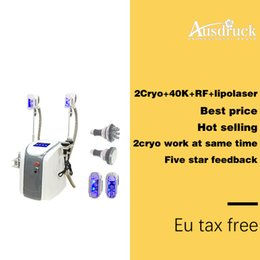 $enCountryForm.capitalKeyWord Australia - factory Cryo cold lipolysis Fat Freezing Slimming Machine Cryotherapy Ultrasound RF Liposuction Lipo Laser Machine For Salon clinic SPA Use