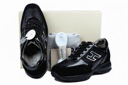 Vente en gros 2018 hommes chaussures de sport Interactive Italie Vente en ligne Femmes en cuir Loisirs Scarpe dernières arrivées H Casual Uomo Baskets Qualité n7