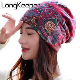 ed6d4046873 LongKeeper 6 Colors Cotton Women Beanies Caps Spring Women Beanie Hat For  Women Caps 3 Way To Wear Bonnet S18120302