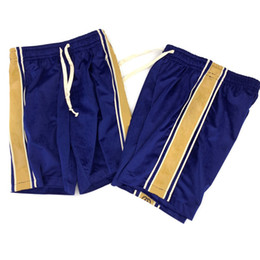VelVet high waist shorts online shopping - 19SS Made in Italy Men Velvet Short Classic Stripe High End Pants Vintage Fashion Summer Breathable Solid Short Pants HFYMKZ169